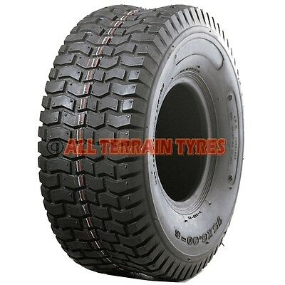 13x5.00-6 Ride On Lawnmower & Garden Tractor Turf Tyre 13x500-6 4 Ply Tubeless