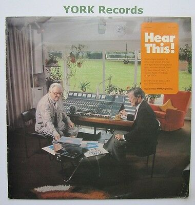 HEAR THIS! - Talks With An Engineer & Producer -Ex LP Record Discourses DCL 1224