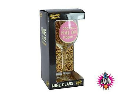 Only Fools And Horses Official Quote Wine Glass New In Gift Box