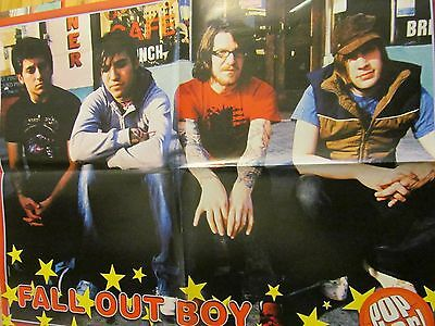 Fall Out Boy, Jamie Lynn Spears, Double Four Page Foldout Poster
