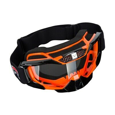 Motorcycle Ski Snowboard Goggles Clear Lens Frame Eyewear Glasses Dust/Windproof