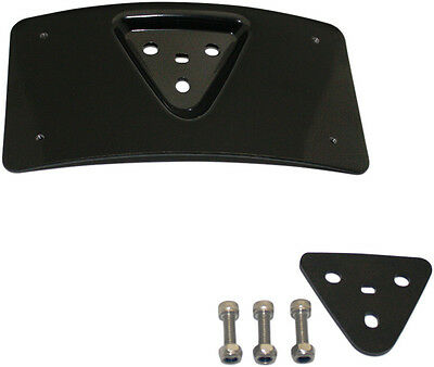 Custom Dynamics Radius Black License Plate Mount CD-PFM-B