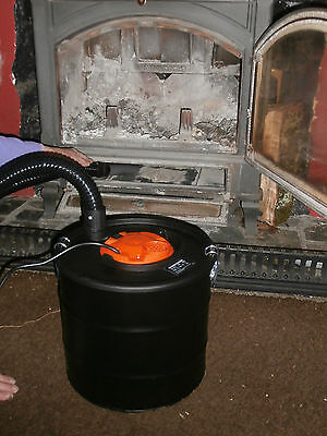 18L Ash Vacuum Cleaner. Woodburner ,Fireplace,Barbecue. Vac Grill Collector BBQ