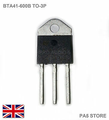 2x BTA41 600B TRANSISTOR Triac 600V 40A - BTA41-600B UK POST