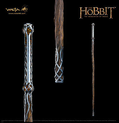 Weta The Hobbit Staff of Thranduil lifesize 1:1 movie prop Replica , neu OVP