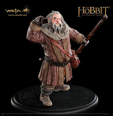 Weta The Hobbit 1/6 Museum Quality Oin the Dwarf Statue ,neu OVP auf Lager