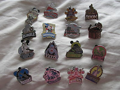 Disney Trading Pins WDW - Disney Mascots Mystery Pack complete set of 16 pins