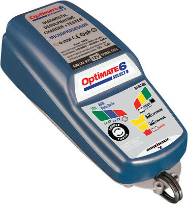 Tecmate Optimate 6 Select Battery Charger/Tester TM-191