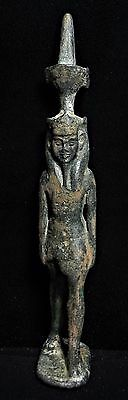 Zurqieh -  Ancient Egypt, Large Bronze Statue Of Nefertum, 1069 - 945 B.c