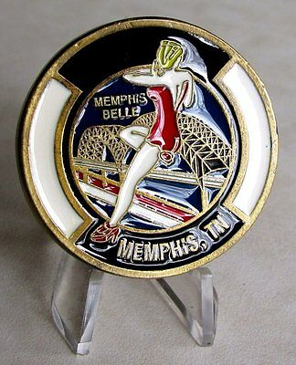 United States 164th Aerial Port SQ Spanning The Globe Memphis, TN Challenge Coin