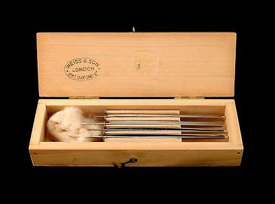 Weiss & Son Boxed Ophthalmic Surgical Set  London  Surgical Instruments Tools