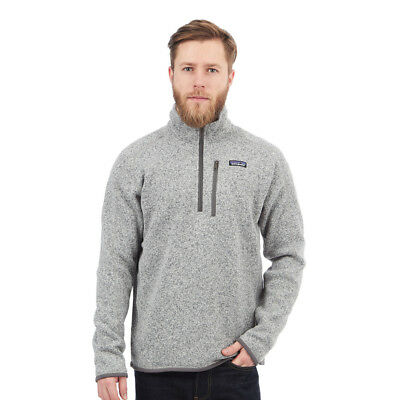 Patagonia - Better Sweater 1/4 Zip Fleece Jacket Stonewash Pullover Rundhals