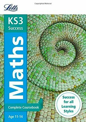 KS3 Maths Complete Coursebook (Letts KS3 Revision Success) by Letts KS3 Book The