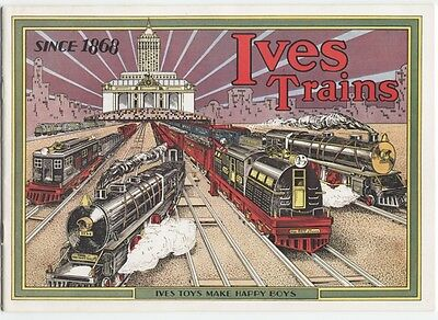 1930 Ives Trains Catalog Reprint, 24 pages, full color
