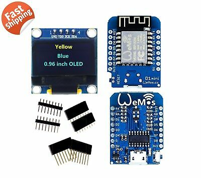 D1 Mini NodeMCU & Arduino compatible wifi lua ESP8266 ESP-12 WeMos Ship from USA