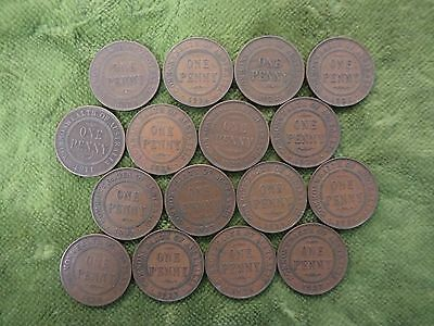 Half  Square Metre   Australian  Circle Pattern  Penny Coins For Craft Work, Etc