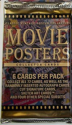2007/2008 Breygent Movie Posters (Classic Vintage Poster Collection) sealed pack