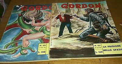 2 Flash Gordon Comics, 1965/66, Italian Text
