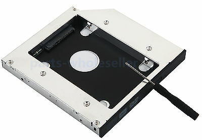 2nd HDD SSD SATA Caddy Adapter for SONY vaio vpccw21fx VPCF23EFX//B VPCF234FX//B