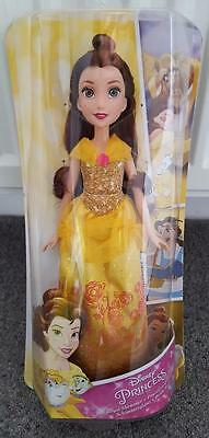 "12"" Disney Barbie Doll, Belle, Beauty And The Beast, New, Sealed And Boxed"