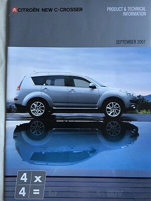 Citroen New C - Crosser Brochure