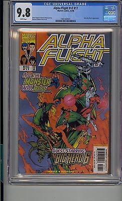 Alpha Flight #17 Cgc 9.8 White Pages Marvel 1St  Big Hero 6 Disney Movie