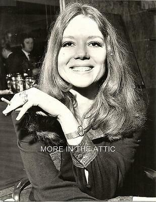 Young Cute Diana Rigg Of The Avengers Fame Original Vintage Portrait Still #2