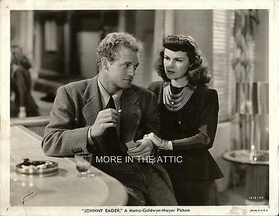 Van Heflin Original Johnny Eager Mervyn Leroy Film Noir Still #1