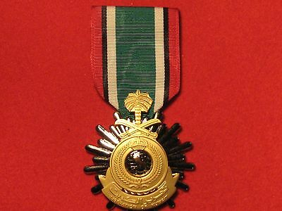 Full Size Saudi Arabia Liberation Of Kuwait Medal With Ribbon With Fixing Brooch