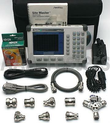 Anritsu S331D SiteMaster Cable & Antenna Site Master w/ Options 3 / 50 T1 E1