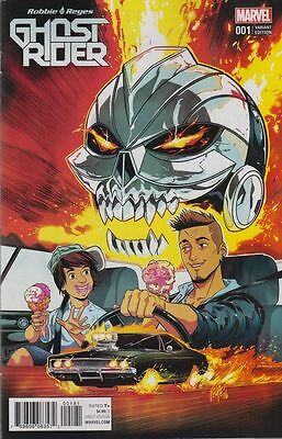 GHOST RIDER #1 - Marvels Agents of SHIELD - 1ST PRINT - SMITH VARIANT