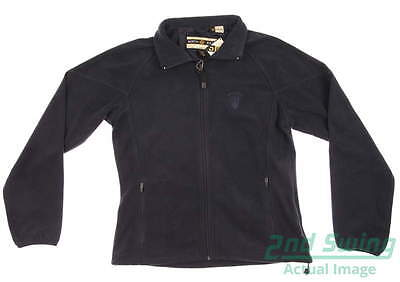 New Womens North End Golf Jacket Small S Black