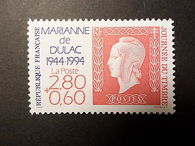 FRANCE 1994 timbre 2863, JOURNEE du TIMBRE, neuf**