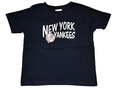 New York Yankees SAAG Youth Boys Navy Soft Cotton Short Sleeve T-Shirt