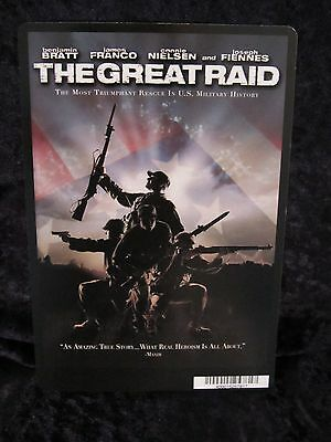 THE GREAT RAID movie backer card JAMES FRANCO **this is NOT a movie**