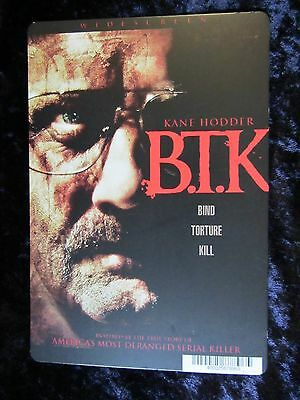 B.T.K. movie backer card (this is not a movie) KANE HODDER