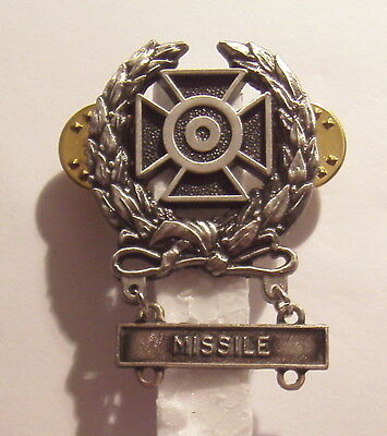 U. S. Army Basic Qualification Expert Badge with MISSILE BAR