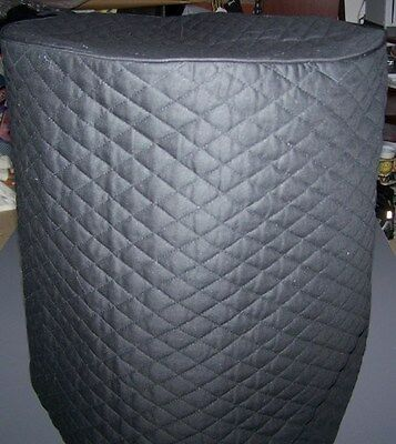 Black (or color choice) Quilted Fabric Full Size NuWave Oven Cover NEW
