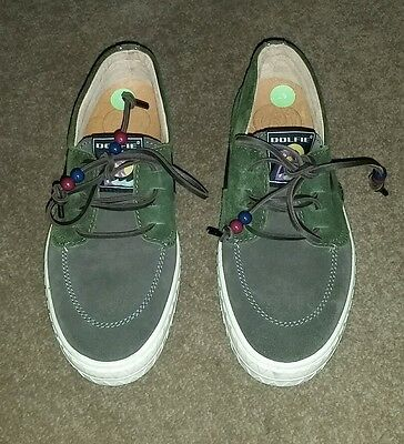 Dolfie Ladies Women`s  Leather Shoes - New - Size UK 6 7 - EUR 39 - Green
