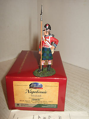 Britains 50004 Museum Collection, Black Watch Highland NCO, Napoleon War 1815.