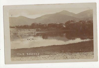 The Beacons Brecon Vintage RP Postcard 0940