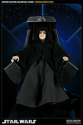 Sideshow Star Wars Palpatine on Imperial Throne Premium  Format Statue Figur