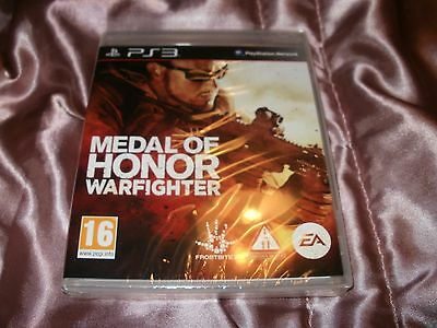 Medal of Honor: Warfighter - Sony PlayStation 3 PS3 NEW / SEALED