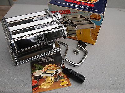 Pasta In Casa Noodle Making Machine Italy  Marcato 150 Ampia Vintage