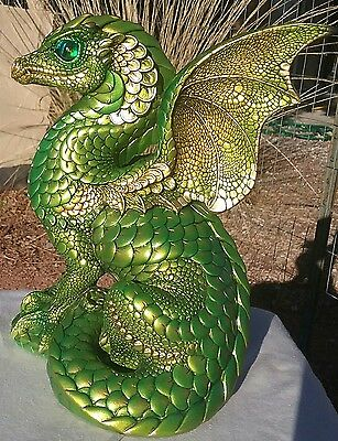 *MINT*  Windstone Editions Summer Green Spectral Dragon #1