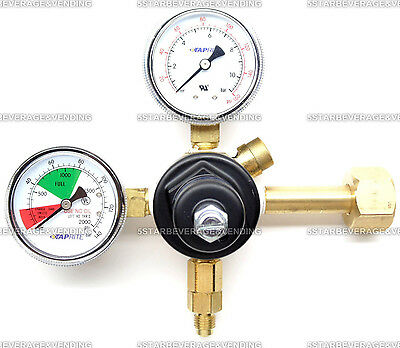 Taprite High Pressure Dual Gauge Co2 Primary Regulator Brand New