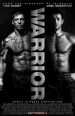 Warrior movie poster :  11 x 17 inches : Tom Hardy poster, Joel Edgerton, Boxing