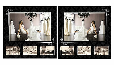 Volume 13 ELEGANT WEDDING PSD TEMPLATES-Double Page Spreads V.13