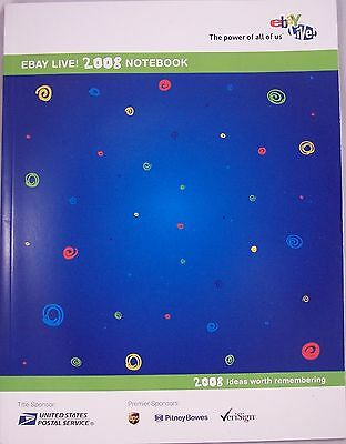 eBay Live Official Notebook Chicago 2008 Ebayana Lot Of 3 NEW