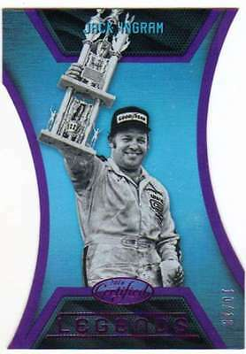 2016 Panini Certified NASCAR Racing Legends Mirror Purple /10 #18 Jack Ingram